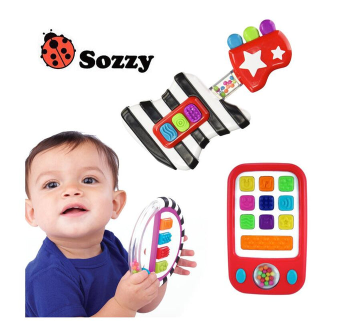 Sozzy Children Music Educational Toys Guitar / Piano