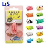 Doll Animal Cable Protector for Iphone Cable