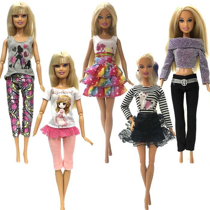 Handmade fashion clothes For Barbie Doll