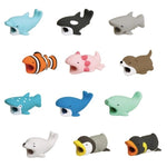 36 styles 1 Pcs IPhone Cable Bite Accessory Protects Animals Chompers