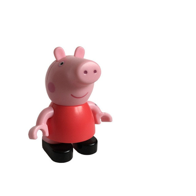 Peppa Pig George family friend Teacher Dog