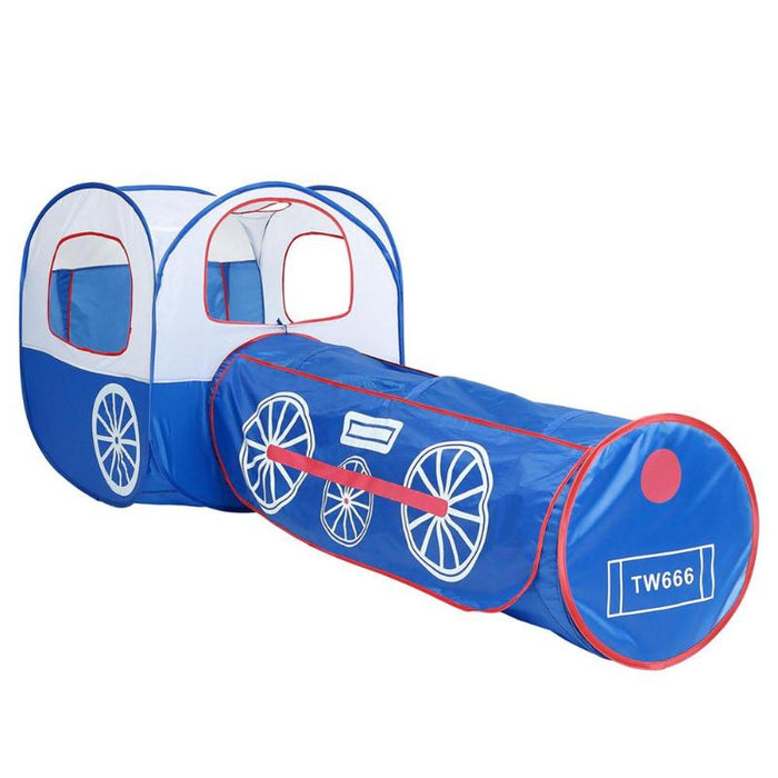 Train Tunnel Pop-up Children's Tent Portable Ball Pool Foldable