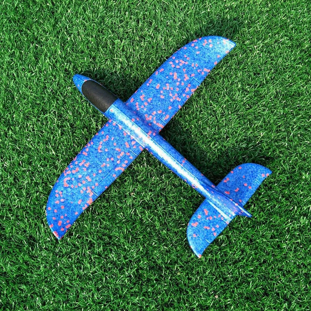 Big 35cm Kids Toys Hand Throw Airplane