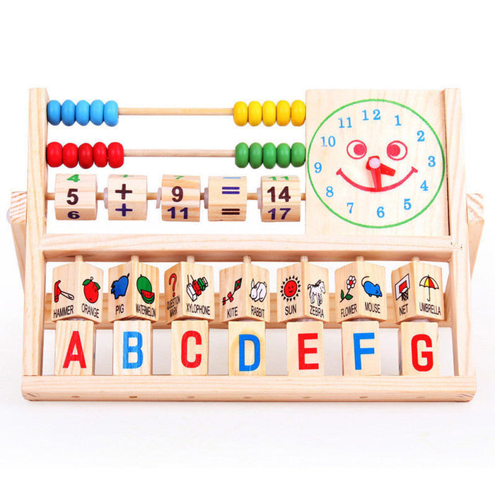 NEW Children Baby Kids Learning Developmental Versatile Flap Abacus