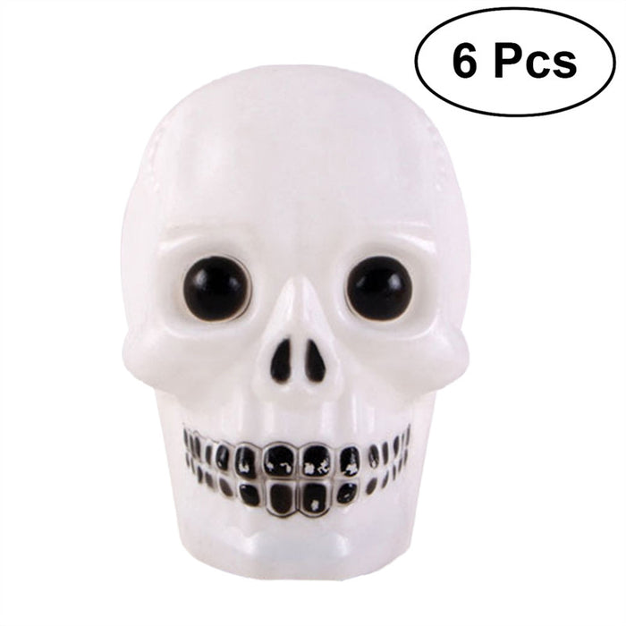 6PCS LED Halloween Decor Light Skeletons