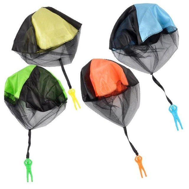 1PC Kids Hand Throwing Parachute Toy