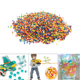 10000pcs/Bag Colored Water Marbles Soft Crystal Water Paintball Bullet For Water Gun