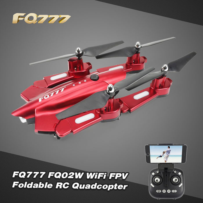 FQ777 FQ02W 0.5MP Camera Wifi FPV Foldable Transform Robot Shape