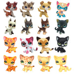 pet shop toys cute short hair anime figure