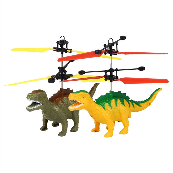 Dinosaur Induction Helicopter Mini Induction Suspension Hand Flying Dinosaur Aircraft Toy