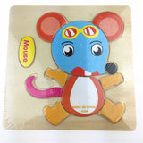 1pc Wooden 3D Puzzle Jigsaw Wooden Toys For Children