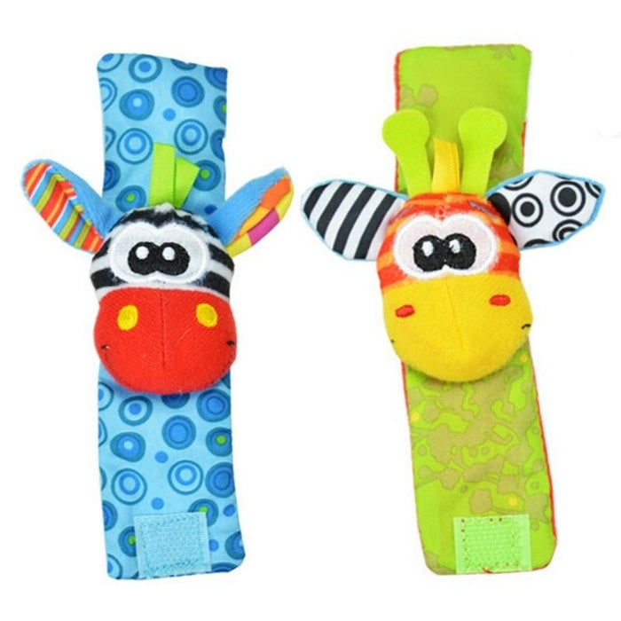 Cute Animal Cloth Child's Wrist Strap Colorful Baby Doll