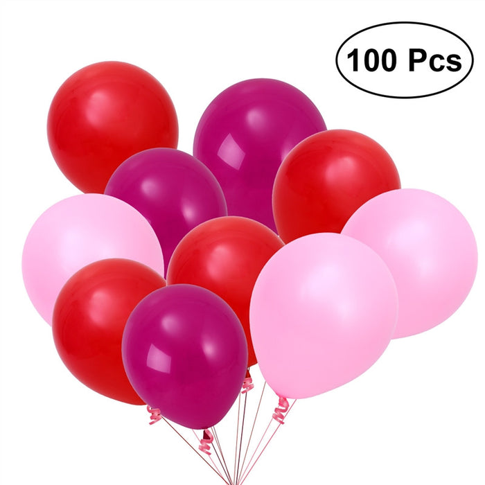 100pcs 12 Inch Latex Balloons Room Decoration Party Supplies
