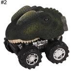 Creative Mini Dinosaur Models Funny Car Pull Back