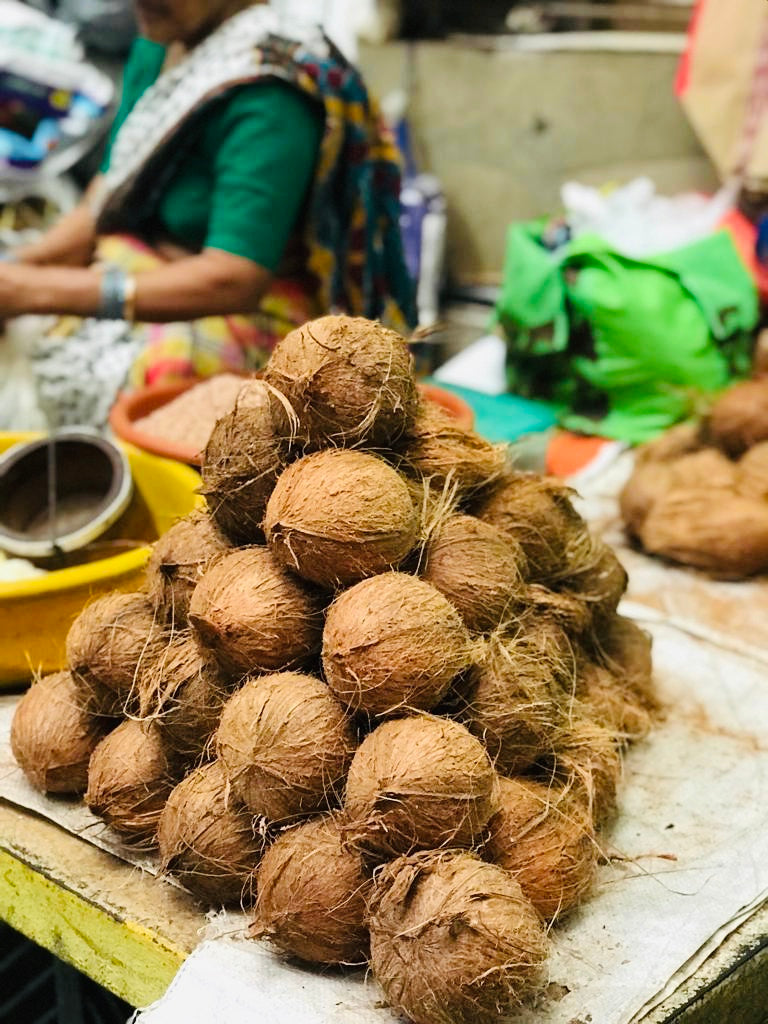 Know Your Spices - Dried Coconut or Copra