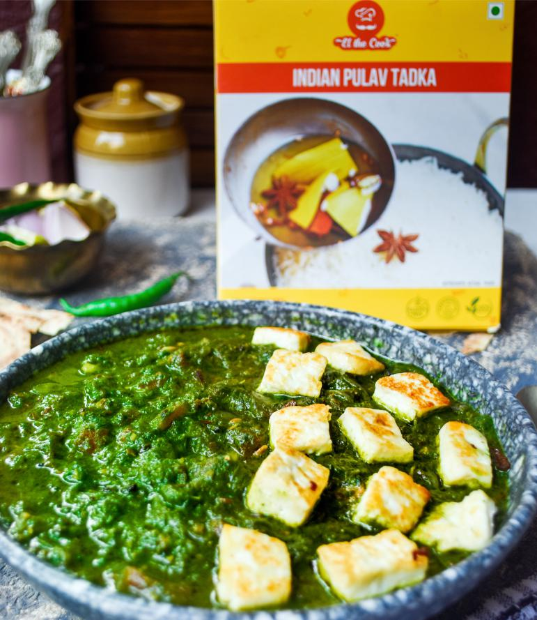 Quick, Delicious & Easy Palak Paneer using EltheCook's readymade Tadka. Read recipe & Buy Online Now!