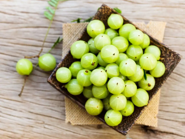 Indian Gooseberry or Amla used in EltheCook Readymade Tadka (Tempered SPice blends). Shipping worldwide