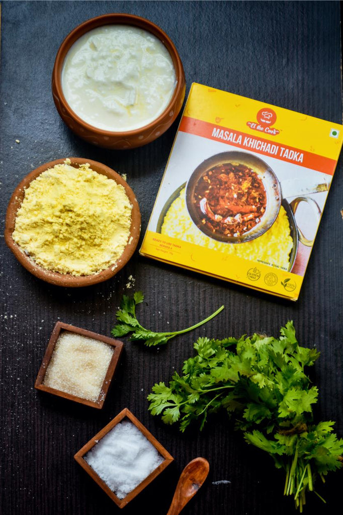 Quick & easy Kadhi using ELTheCook's Readymade Tadka, without any additives/preservatives. Buy online Now!