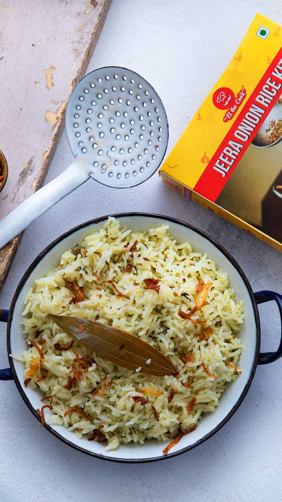 Jeera Onion Rice Kit