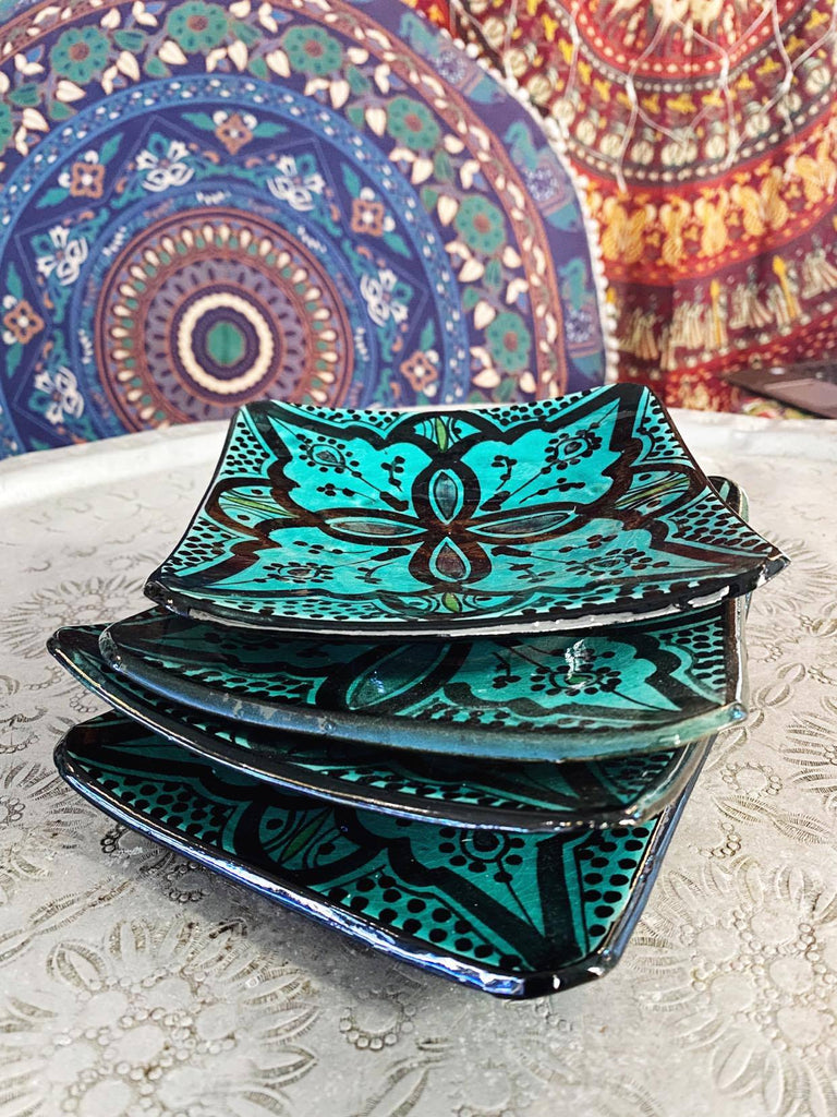 Moroccan Saucer Set of 4