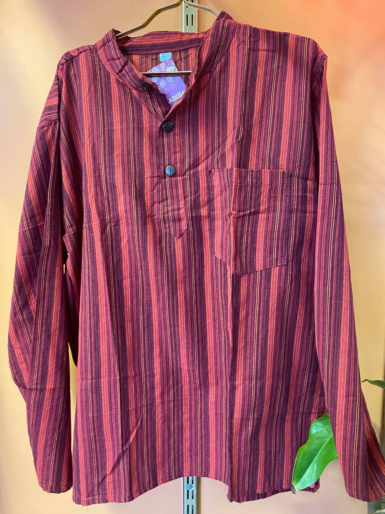 Striped Kurtha Shirt