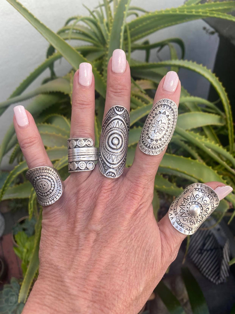 Turkish Silver Rings