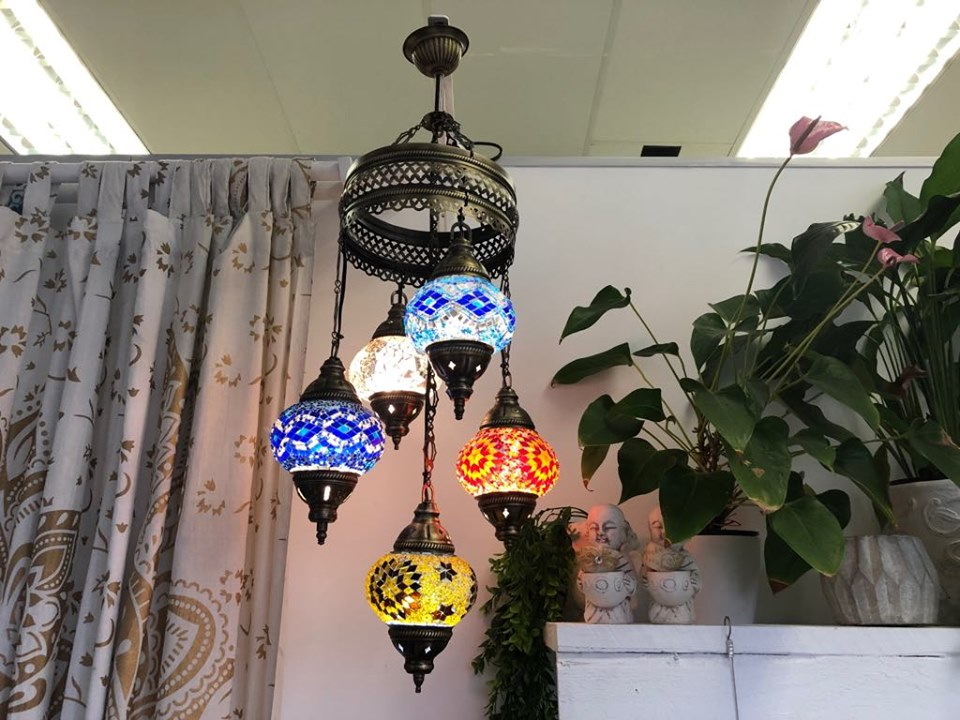 Fetiye 5-Tier Small Hanging Lantern