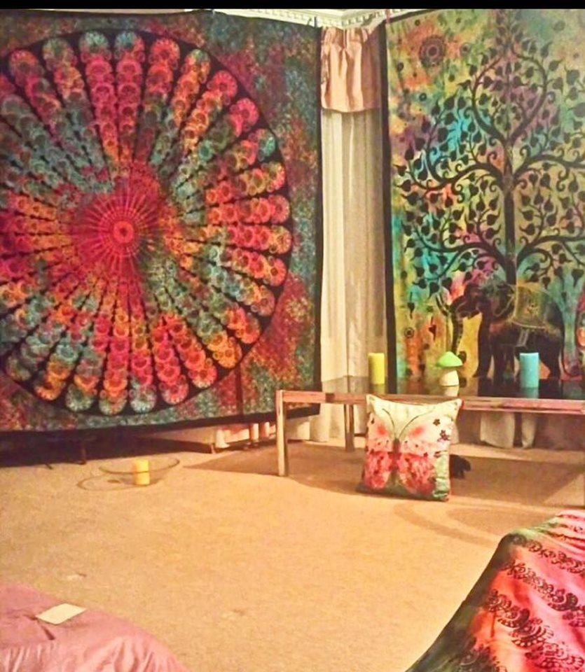Tie Dye Mandala Throws