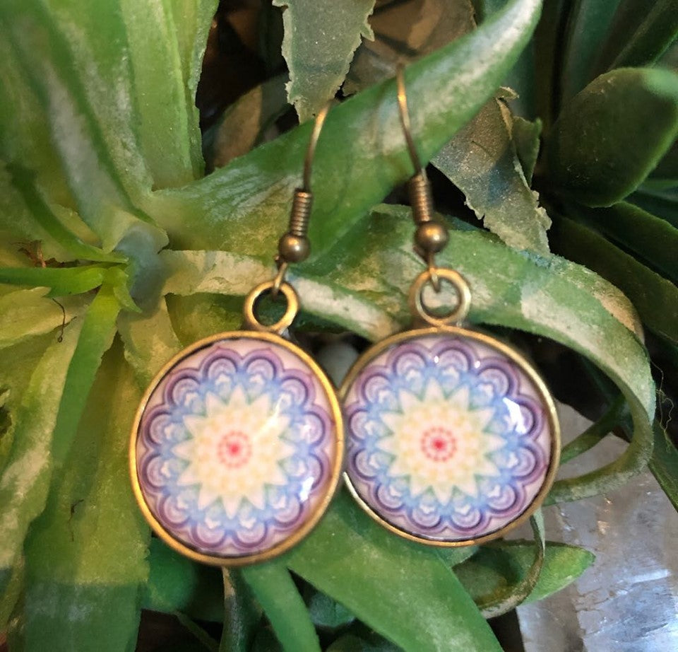 Boho Resin Earings