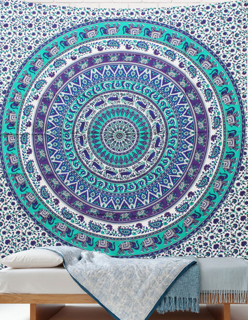 Circle of Life Mandala Throws
