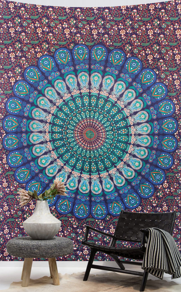 Mandala Twin Sheet