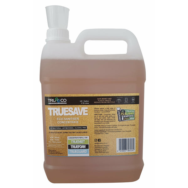 TRUESAVE CONCENTRATE 3.78L (Creates 75.6 Litres READY2USE) - TRUEECO