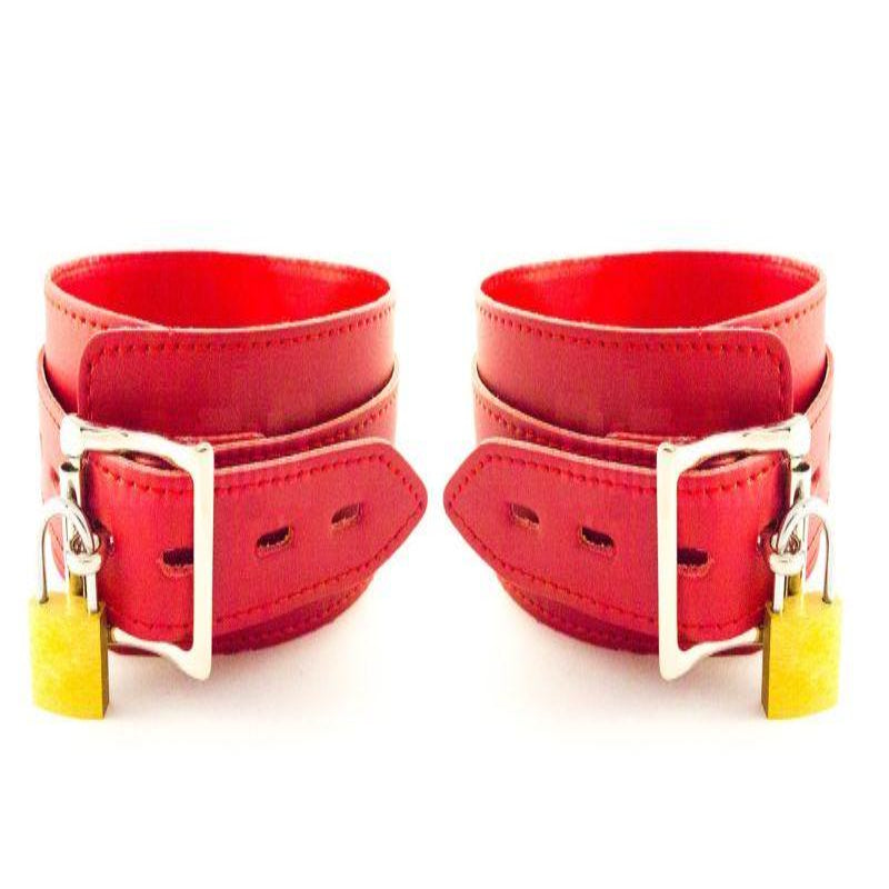 BDStyle Collar Adjustable Red Thin PVC - Jazzy's Sexy Vibes