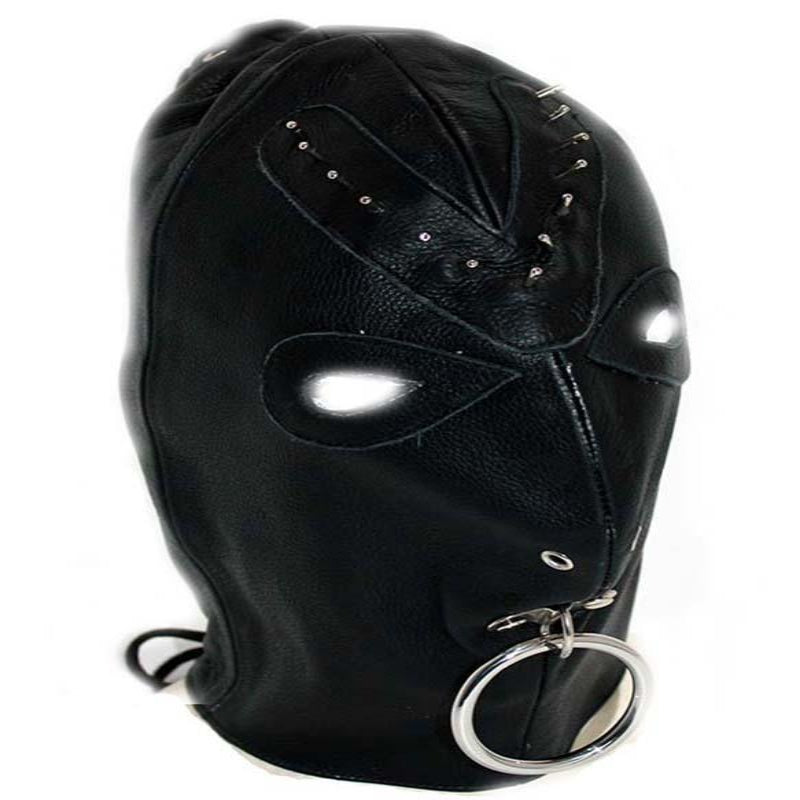 Leather Spiked Devil Hood - Jazzy's Sexy Vibes