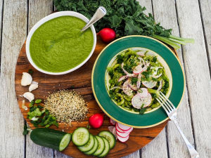 The best kale and hemp seed pesto you have ever made!!