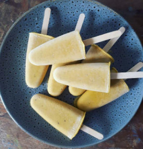 Easy Mango Icy Poles (Vegan Freindly)