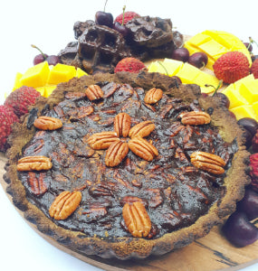 Hemp Pecan Pie (Vegan Friendly)