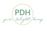 Pure Delight Hemp logo