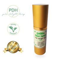 30ml pump bottle of golden face saver
