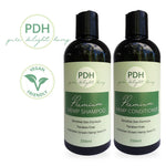 Premium Hemp Shampoo and Conditioner Pack
