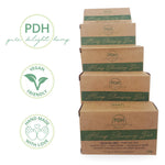 Hand Made Hemp Moisturising Cleansing Bars - Palm Oil Free - 5 Pack