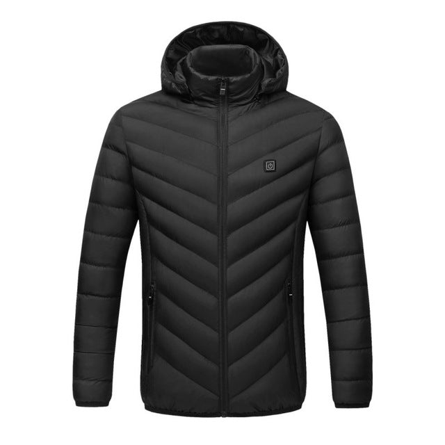 Heated USB Electric Battery Warm Winter Thermal Jacket