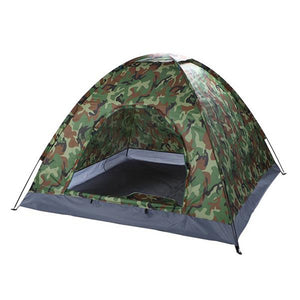 3-4 Person Camping Dome Camouflage Tent