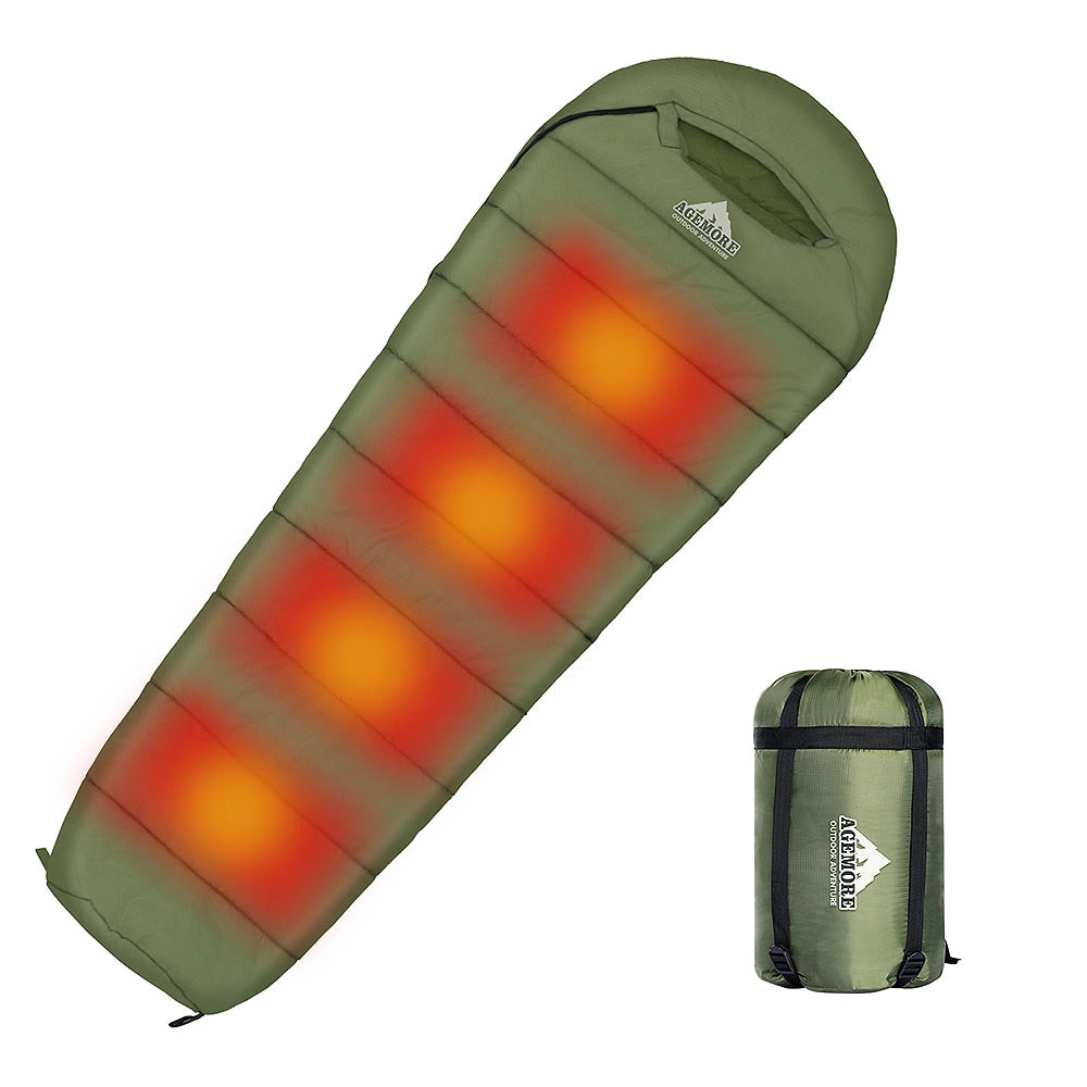 Electric Heating Camping Sleeping Bag
