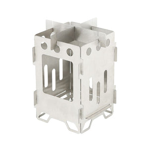 Ultralight Folding Stainless Steel Wood Stove