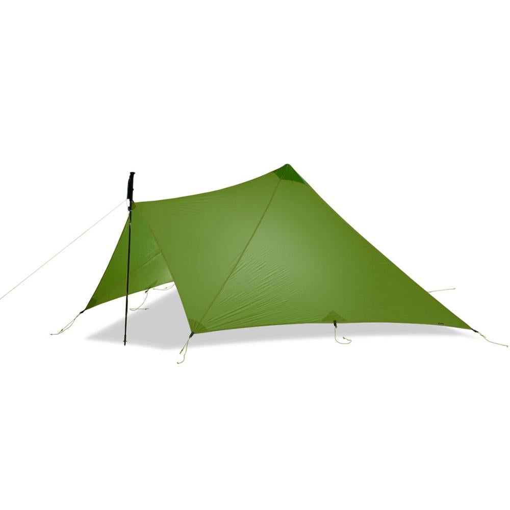 Ultralight 1-2 Person Outdoor 15D Nylon  Sides Silicon Tent