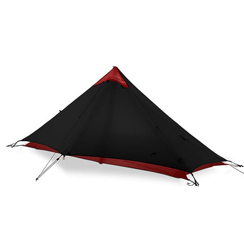 1 Person Professional 15D Nylon Silicon Coating Rodless Tent