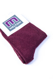 Basic sock: Bordeaux