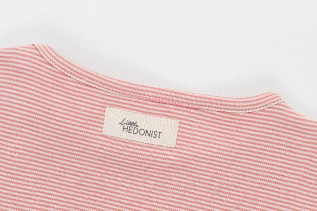Shirt Isabel: Desert sand/antique white striped