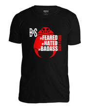 Laden Sie das Bild in den Galerie-Viewer, Bones and Spiders – THE BADASS – T-Shirt